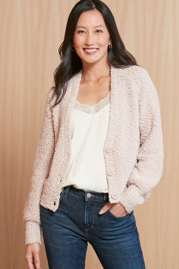 Stitches and stripes Natalie Nubby Cardigan