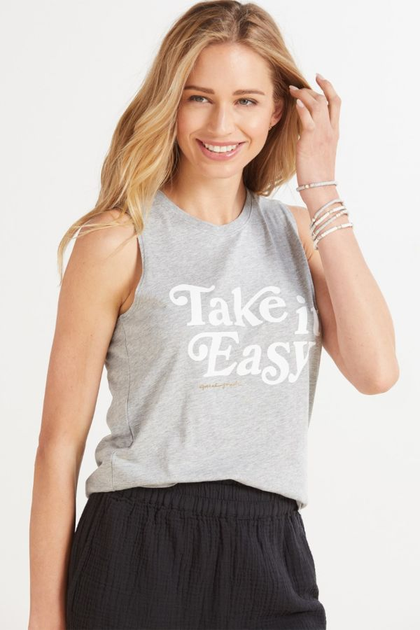 Spiritual gangster Easy Muscle Tank
