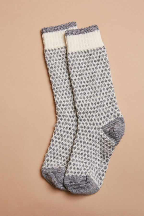 Smart wool Popcorn Polka Dot Crew Sock