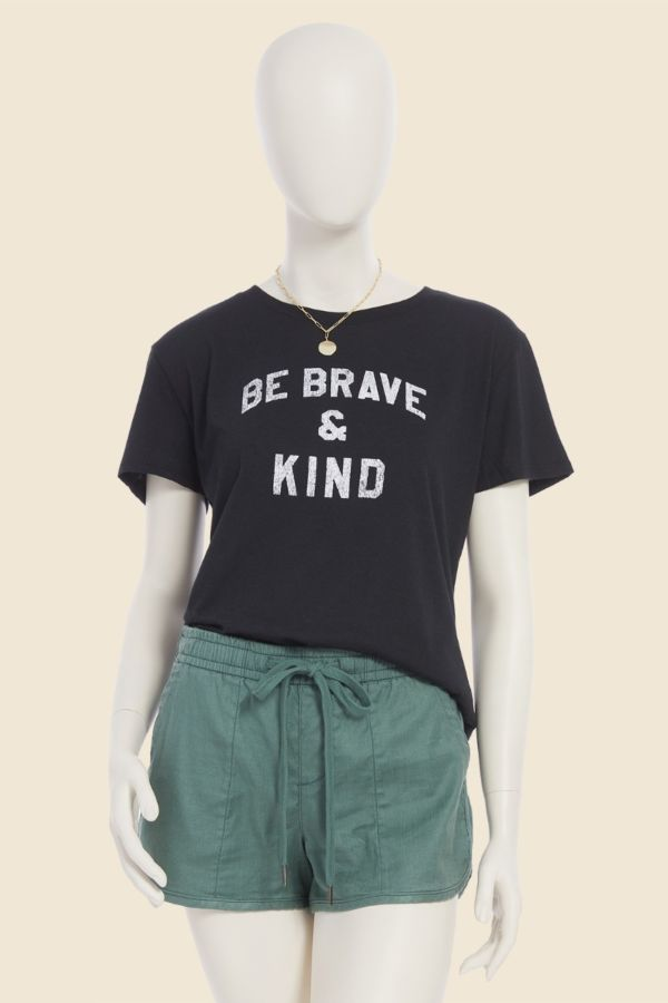 Sub urban riot Be Brave and Kind Tee