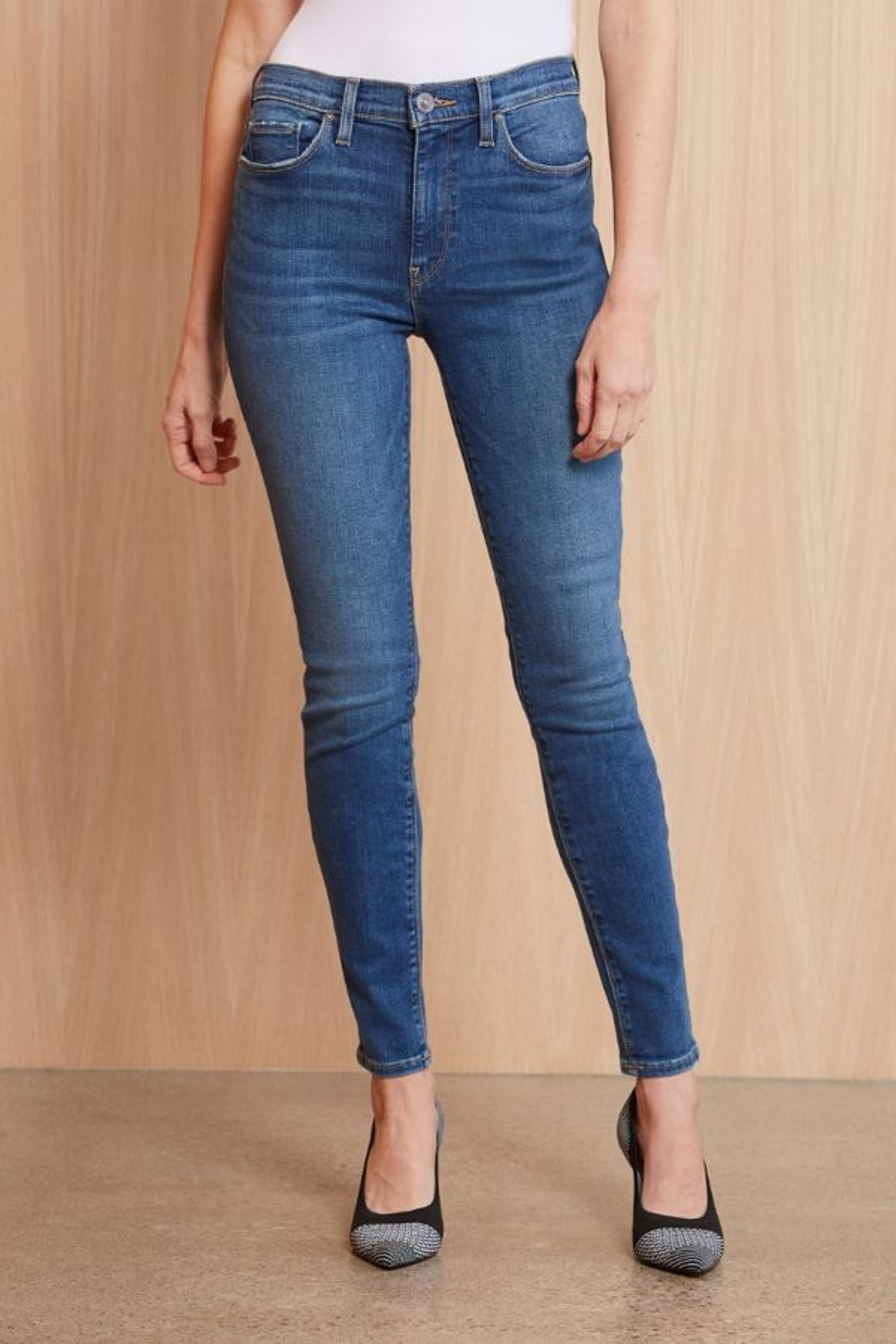 Hudson Organic Barbara Ankle Skinny