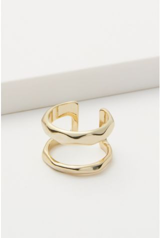 Lindsey Double Bar Ring