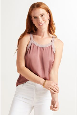 Zora Relaxed Scoop Tank