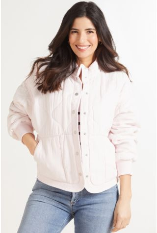 Late Night Feelings Quilted Jacket