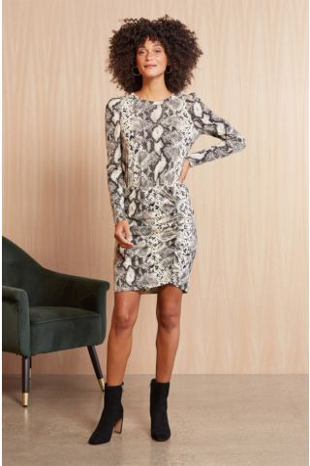 Rebecca Ruched Dress