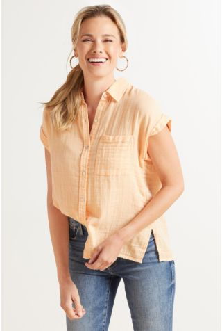Whitney Short Sleeve Button Down