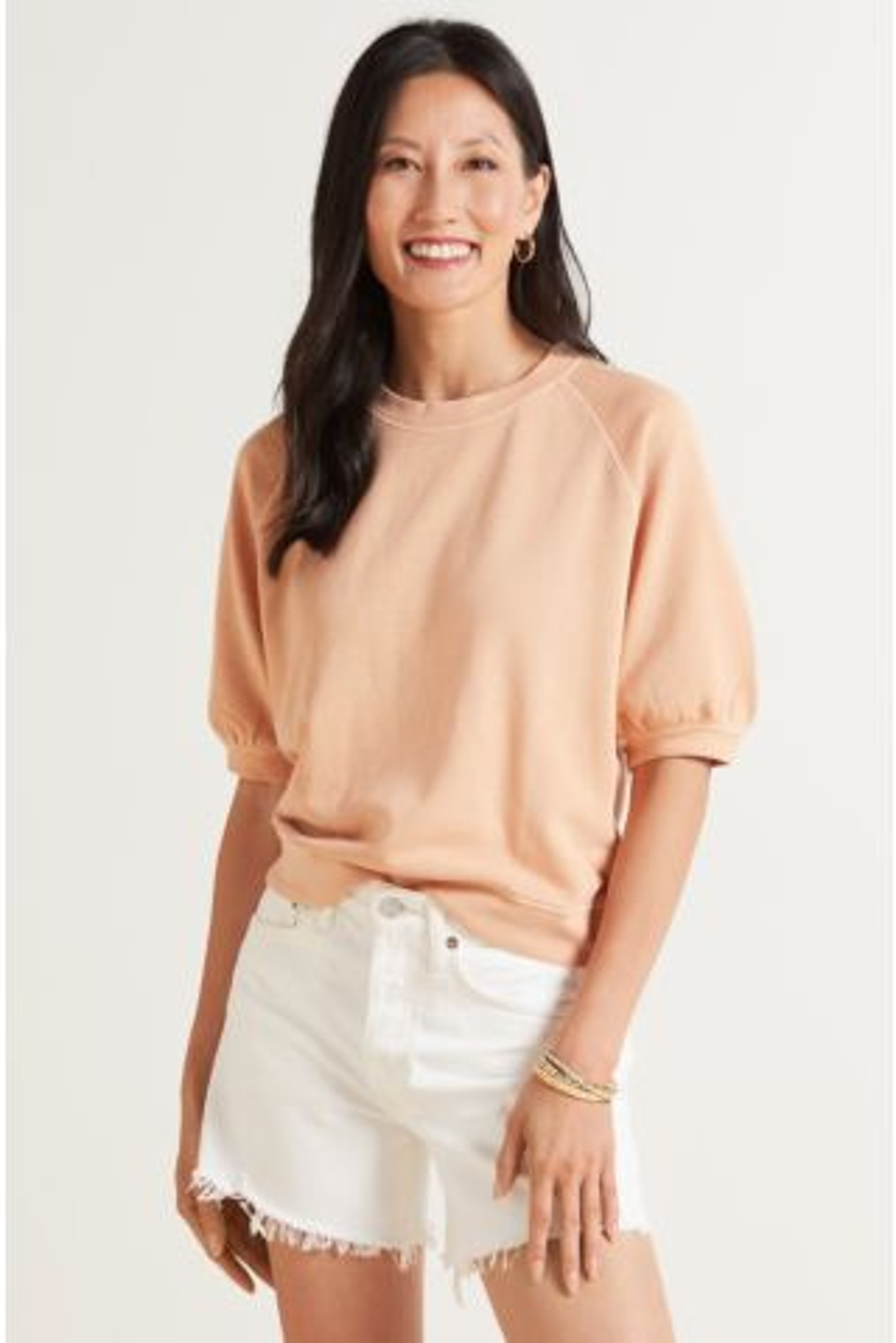 Lia Short Sleeve Sweatshirt
