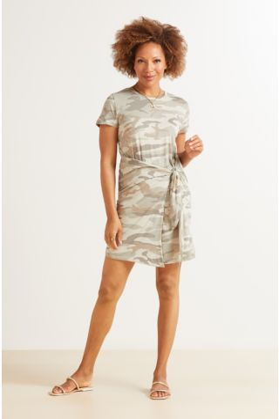 Eddie Camo T Shirt Dress