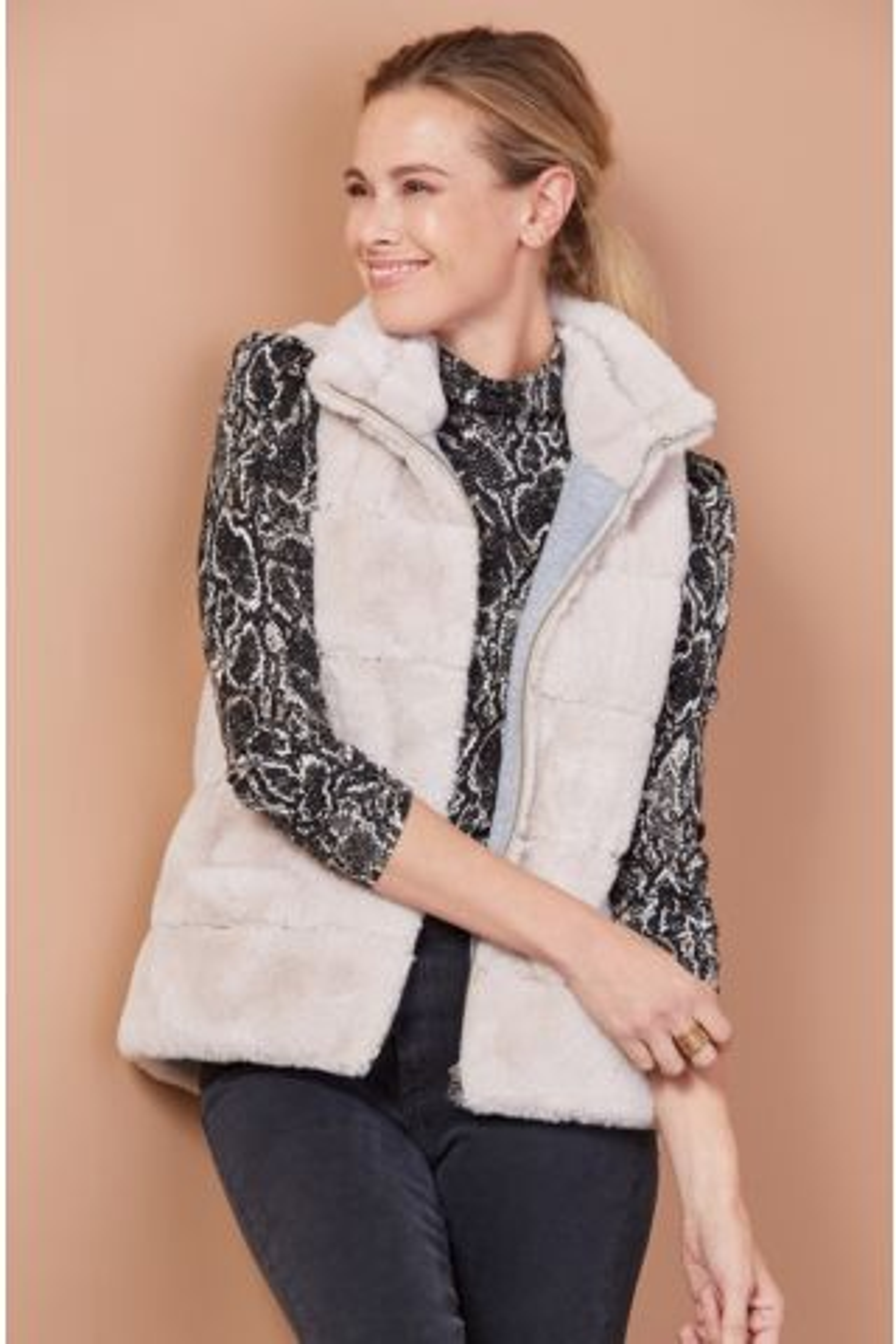 Fur Love Zip Vest