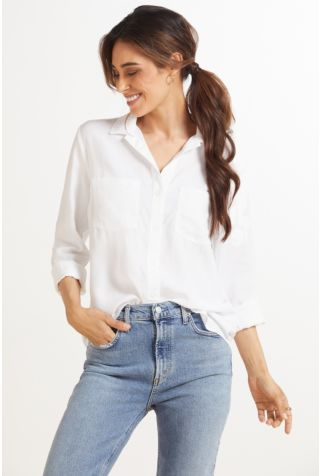 Long Sleeve Pocket Button Down