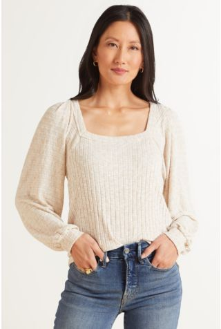 Polly Square Neck Top