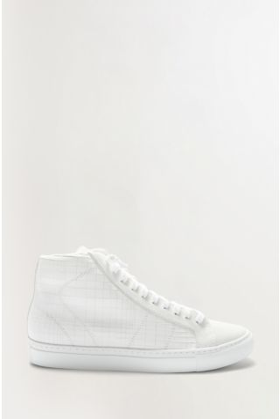 Lazer Cut Star High Top Sneaker