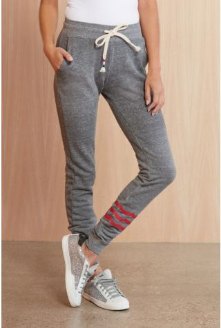 Red Waves Jogger