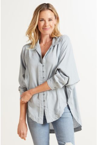 One And Only Stripe Button Down