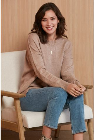 Loren Relaxed Tunic Pullover