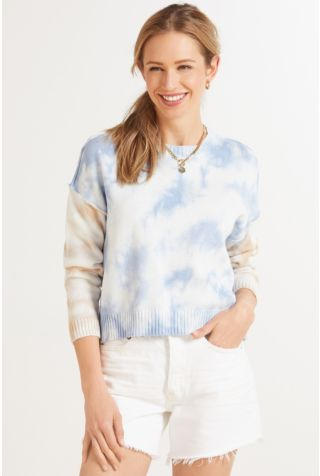 Sky Crystal Wash Pullover