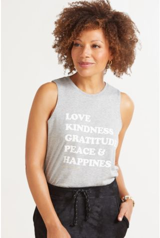 Happiness Muscle Tank