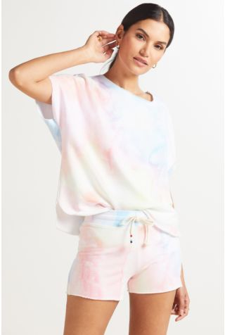 Watercolor Slouch Pullover