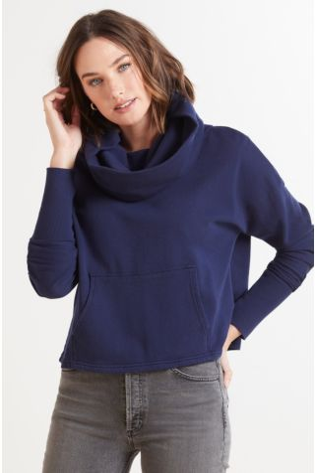 Easy Cowl Sweatshirt
