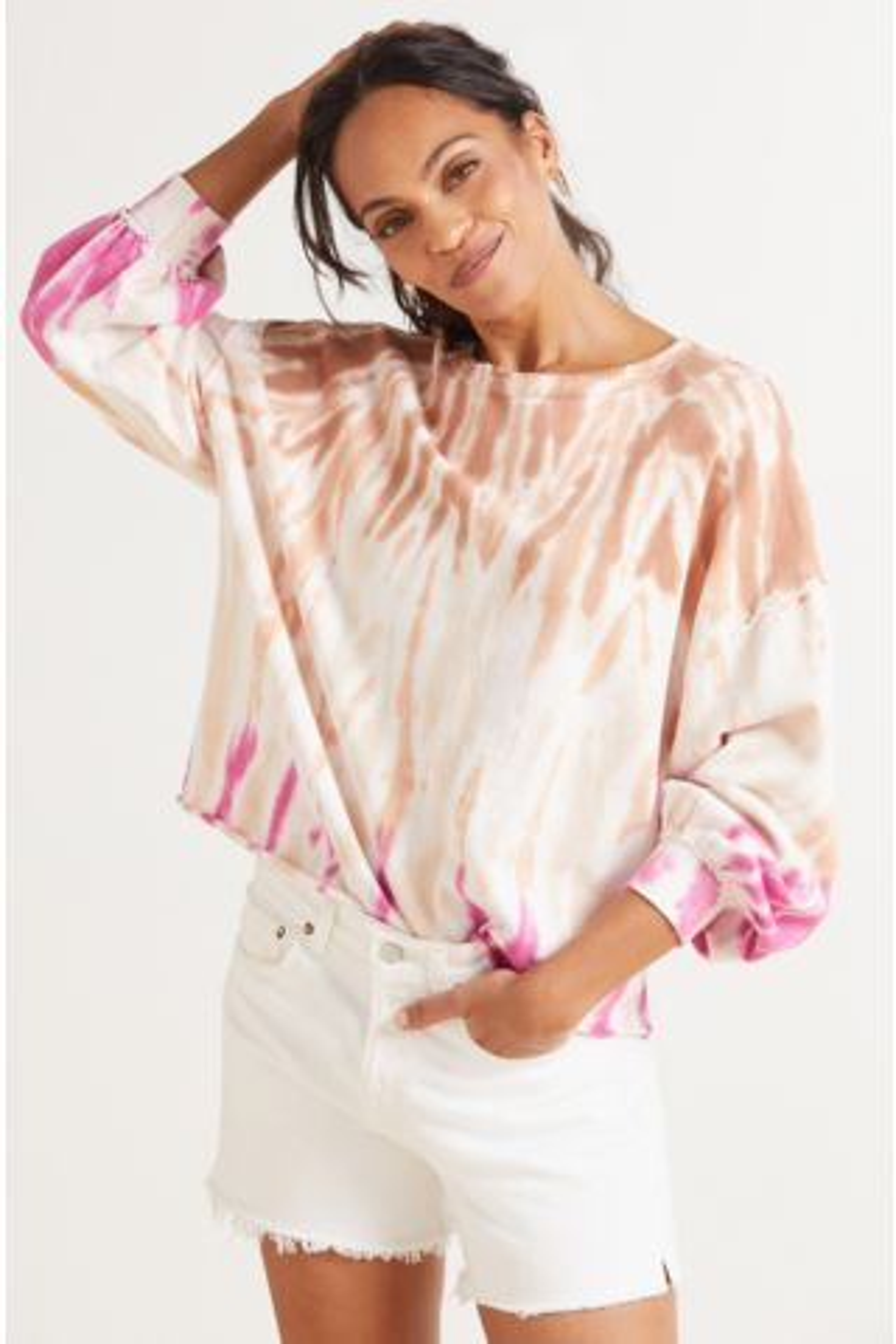 Sahara Tie Dye Sweatshirt