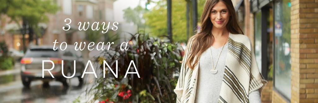 3 Ways to Wear a Ruana