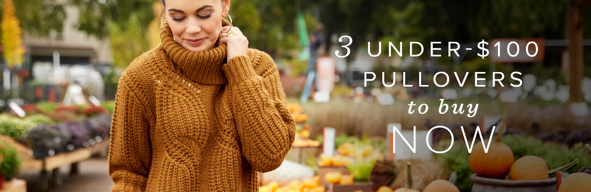 3 pullovers to buy now