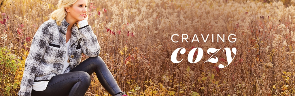 fall cozy style woman