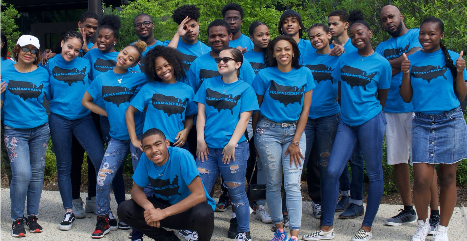 Common Ground Foundation youth and leaders gathered together.