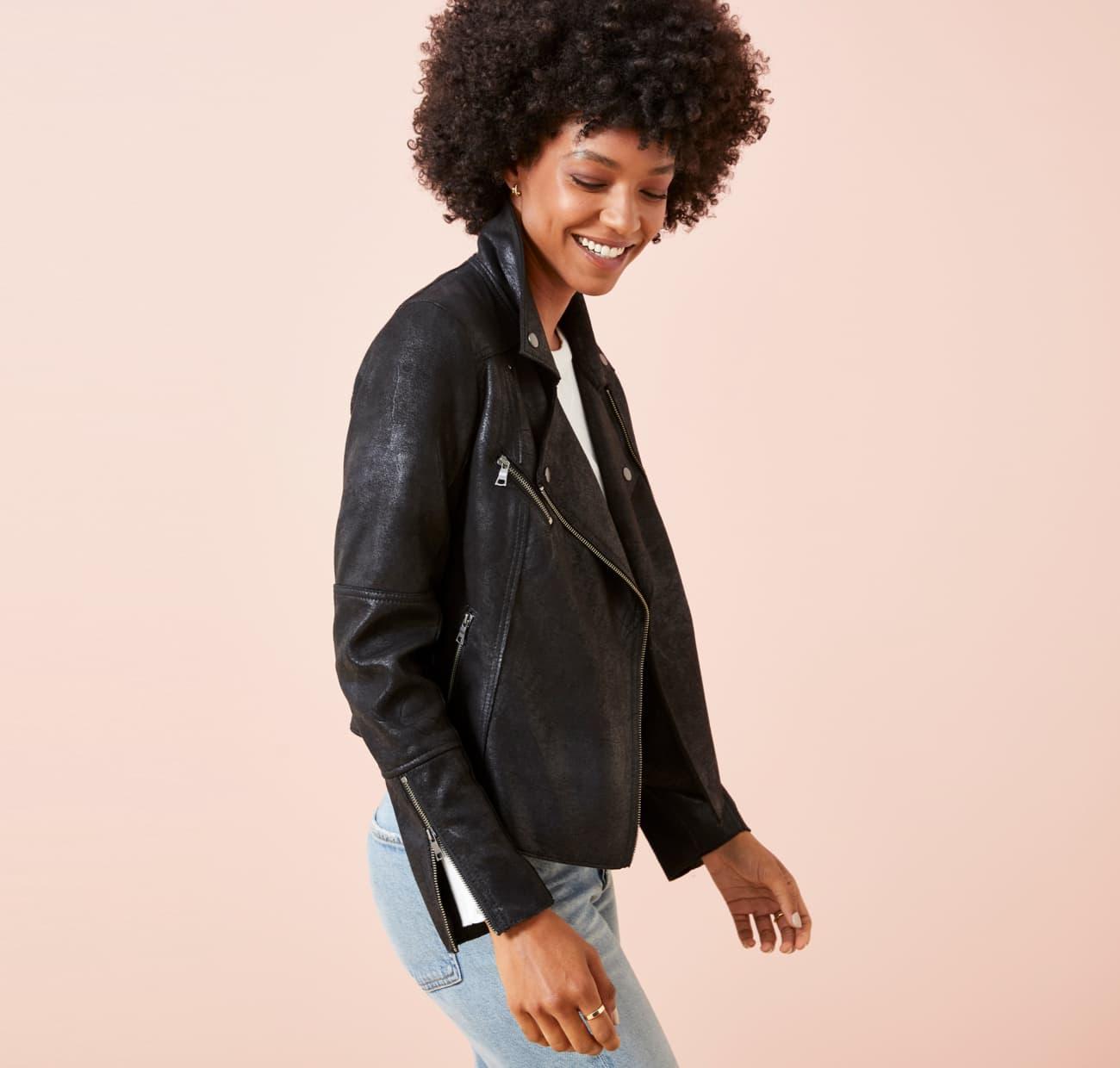 EVEREVE Moto jacket