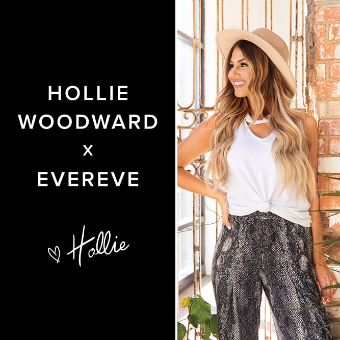 Hollie Woodward x Evereve