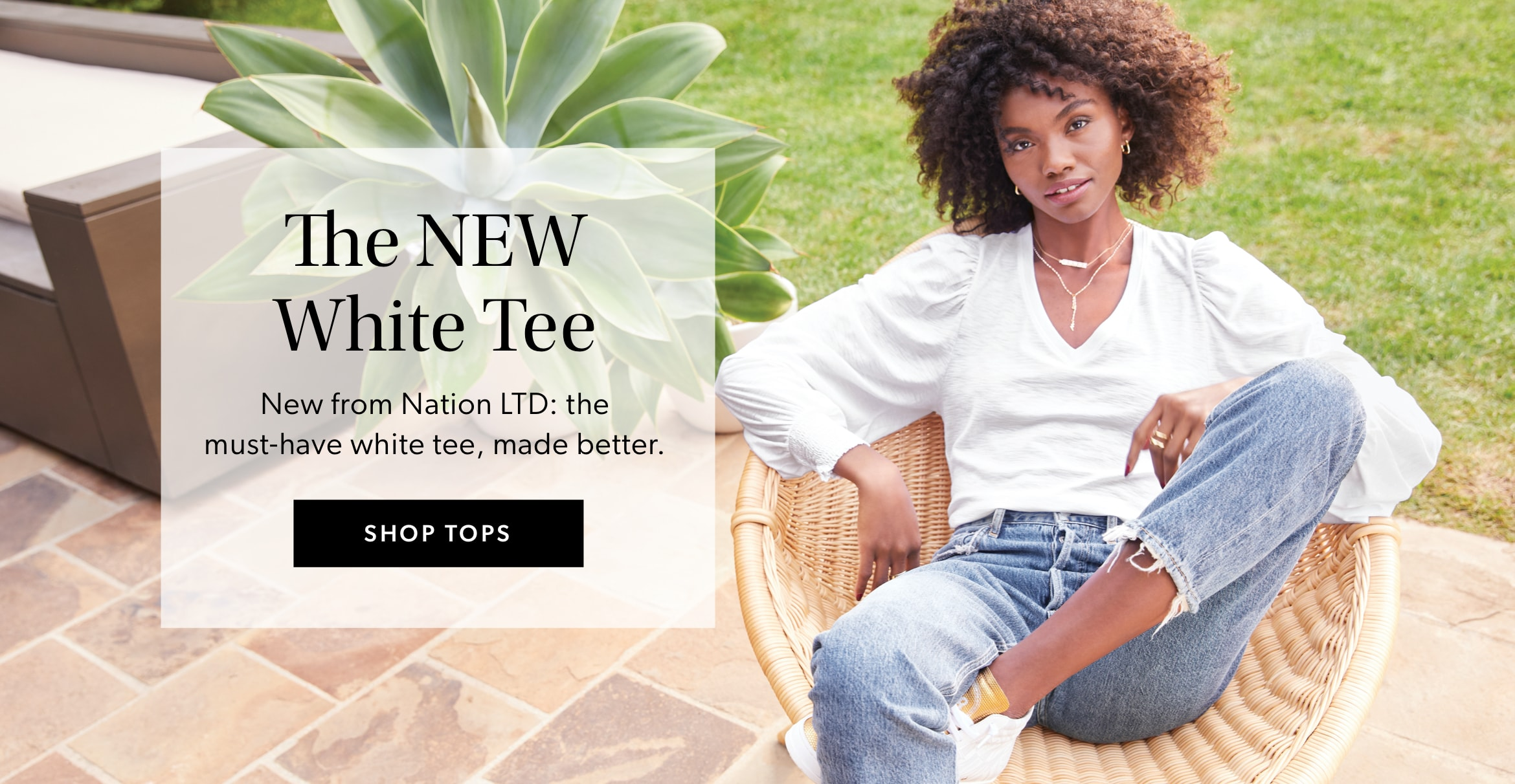 The NEW White Tee - Shop Tops