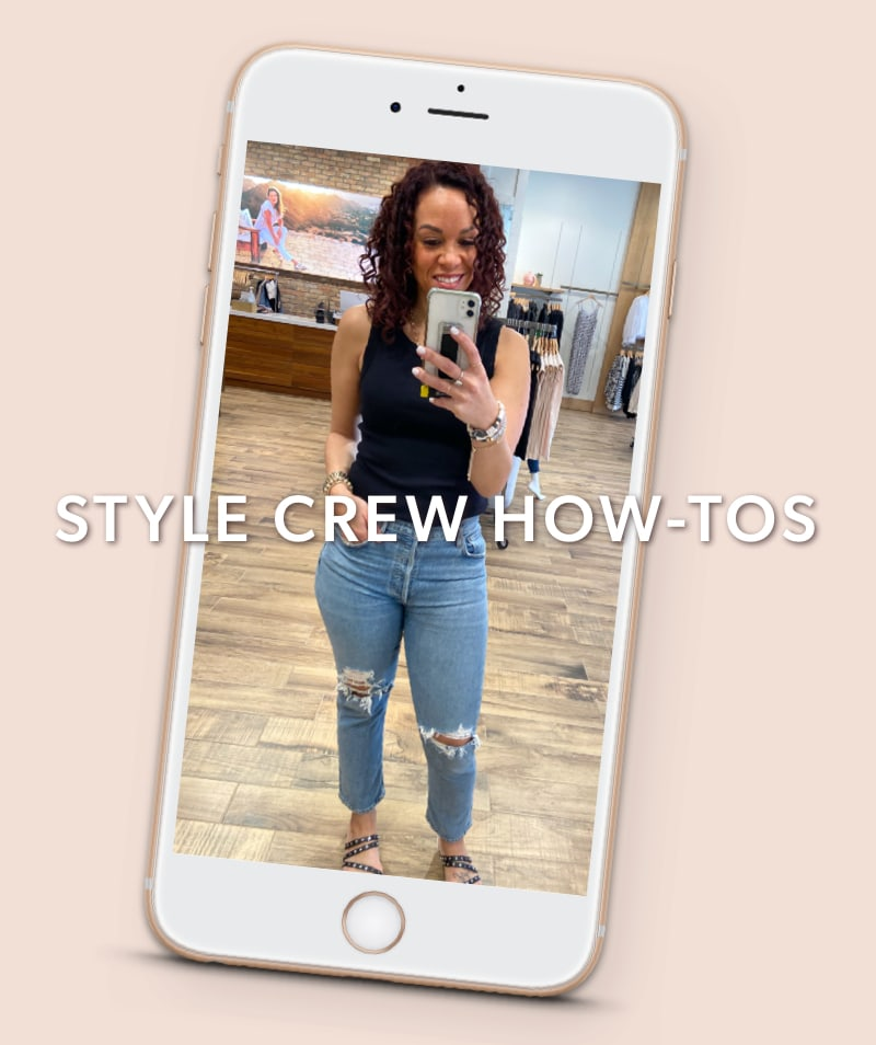 Style Crew How-Tos with Meg