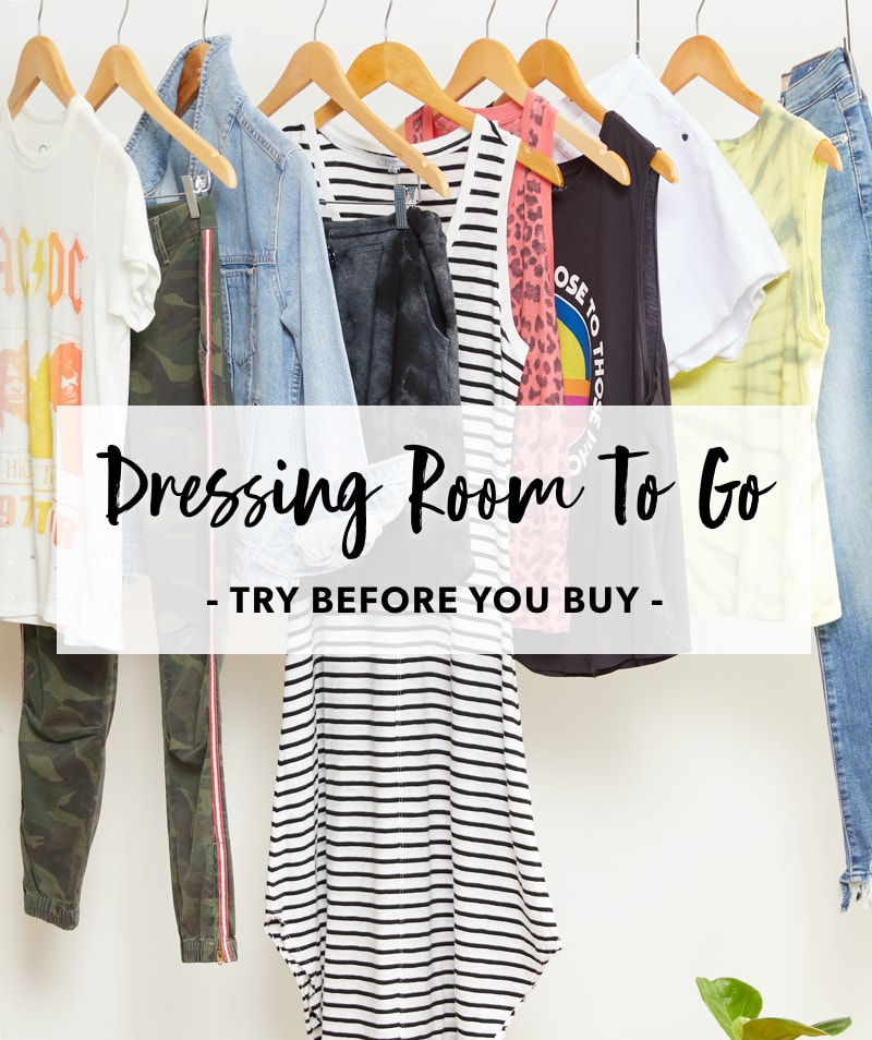 Dressing Room To Go - Try Before You Buy - Learn More