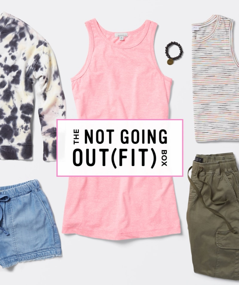 The Not Going Out(Fit) Box - Order A Trendsend Theme Box