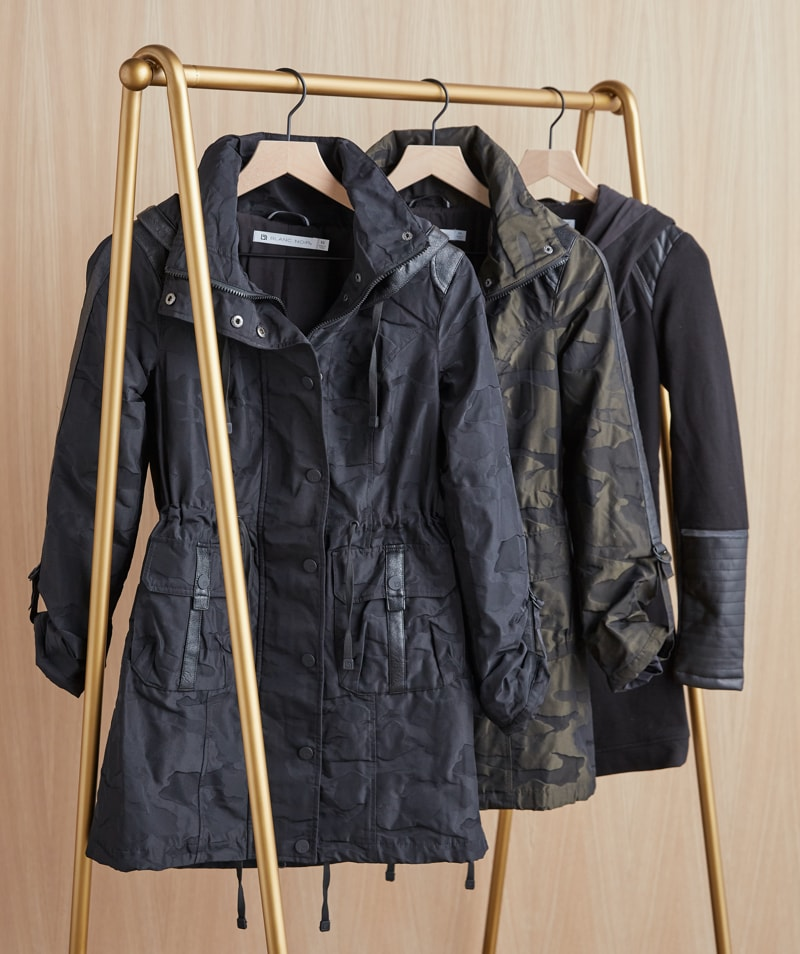 new fall jackets in black and camo print – shop jackets.