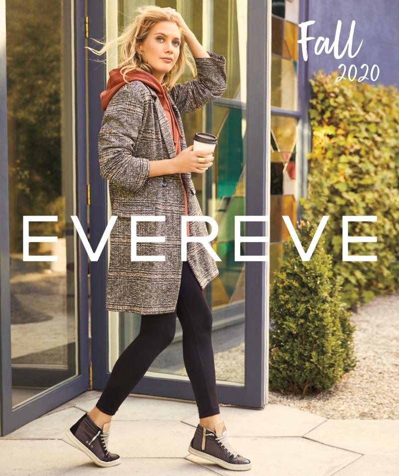 Evereve's fall 2020 catalog cover – Shop Fall Lookbook.