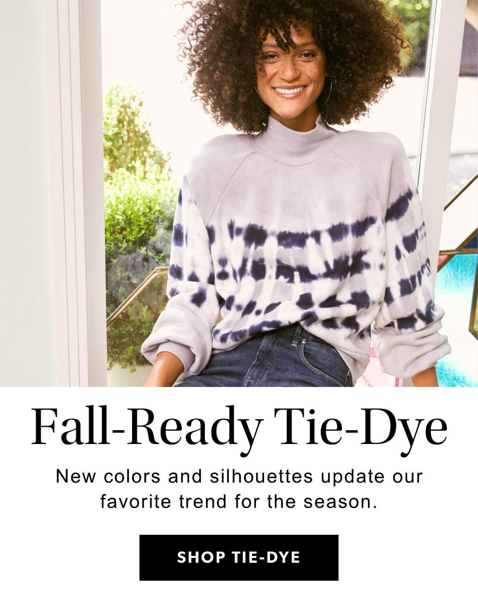 Fall-Ready Tie-Dye - shop tie-dye.