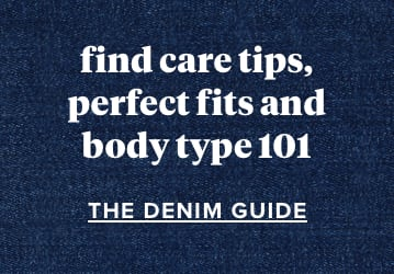graphic linking to the denim guide