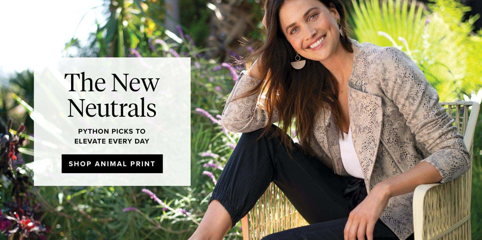 The New Neutrals- python picks to elevate every day - SHOP ANIMAL PRINT