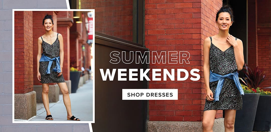 Summer Weekends - shop dresses