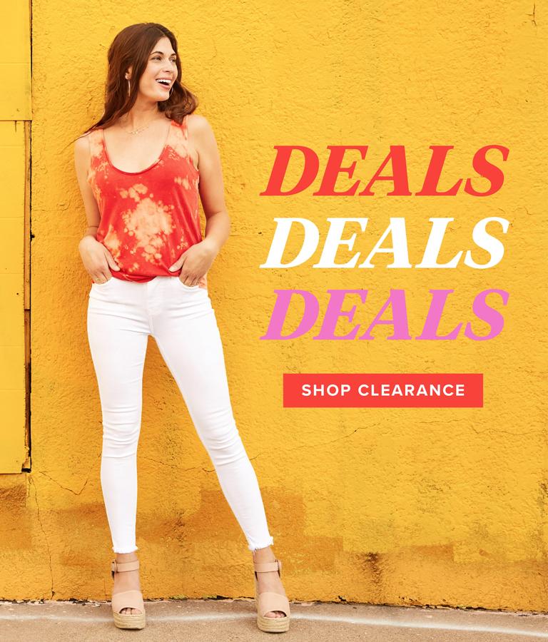 deals, deals, deals - shop clearance
