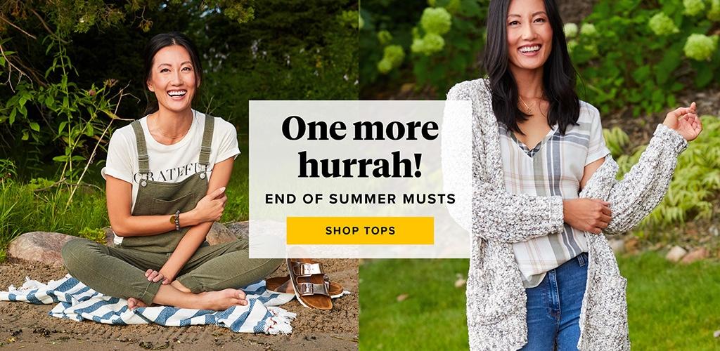 One last hurrah - shop tops