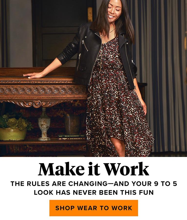 make it work - shop wear to work